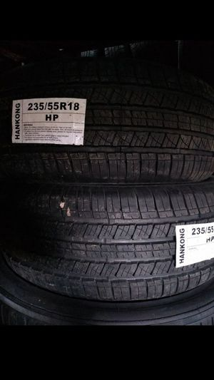 MONKEY wheels and tires 235 55 18 for Sale in Phoenix, AZ