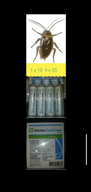 Advion cockroach gel!!!! El mejor veneno para cucarachas!!! for Sale in Long Beach, CA