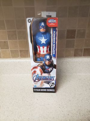 CAPTAIN AMERICA ACTION FIGURE 12INCH for Sale in Houston, TX