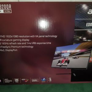 Acer 32 Gaming Monitor 165mhz. 1ms. DP. NEW for Sale in West Babylon, NY