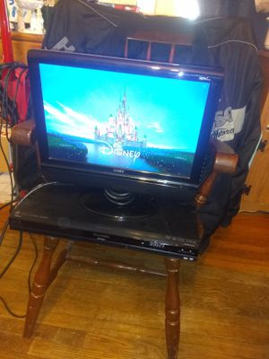 Coby TV Panasonic blueray for Sale in Irwin, PA