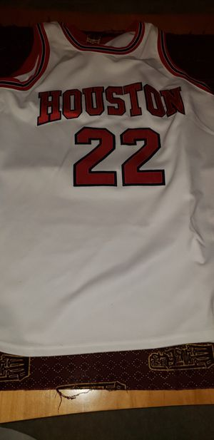 Clyde Drexler #22 Houston Cougars 1983 True School Classic college basketball jersey for Sale in Walkersville, MD