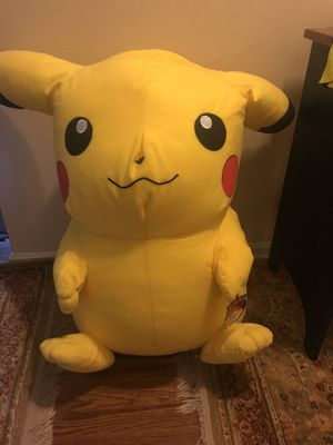 2.5 feet tall Oversized Plush Stuffed Animal-Pikachu-New for Sale in North Royalton, OH