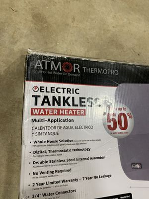 Tankless water heater for Sale in Monroe, WA
