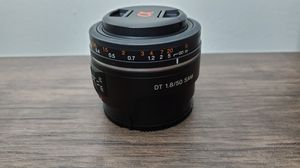 Sony DT 50mm f/1.8 SAM Lens for APS-C A-mount camera for Sale in Long Beach, CA