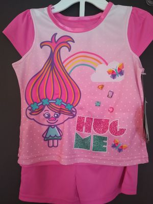 Troll 2 piece pajamas set sz 2t shipping only no pickup for Sale in Apalachicola, FL