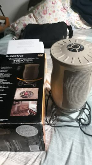 Lasko Oscillating ceramic Heater for Sale in Fremont, CA