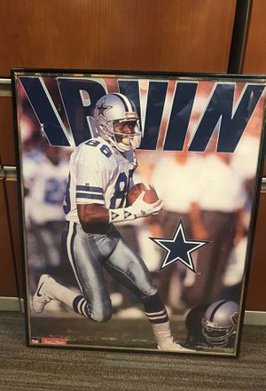 Michael Irvin Dallas Cowboys framed art for Sale in Seattle, WA