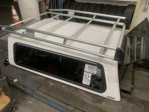 Camper with racks for tacoma 2005-2015 long bed for Sale in Vallejo, CA