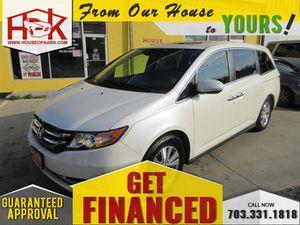 2014 Honda Odyssey for Sale in Manassas, VA