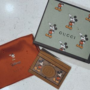 Gucci x Disney Card Holder w/ Mickey Mouse for Sale in Surprise, AZ