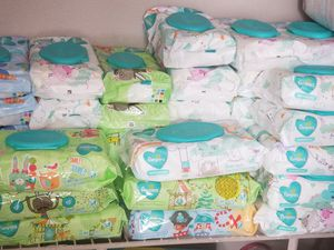 Pampers wipes $1.50 30 available for Sale in Plano, TX