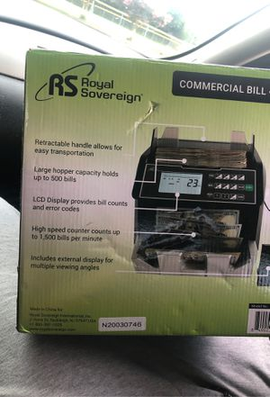 Money counter for Sale in Fayetteville, NC