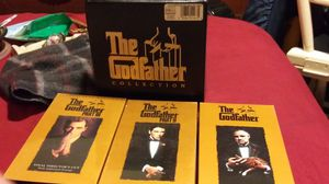 Godfather Collection VHS for Sale in Lexington, KY