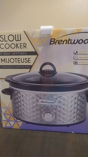 Brentwood 4.5 Qt. Slow Cooker for Sale in Tempe, AZ
