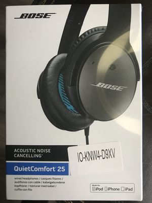 Bose QC 25 noise cancelling headphones for Sale in Chicago, IL