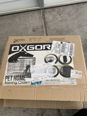 OXGORO - x- small Pet Training Crate + Cage for Sale in Scottsdale, AZ