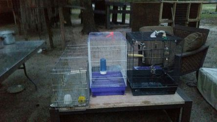 3 Bird cages$ 10 each for Sale in Anthony,  FL