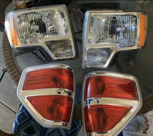 OEM 2009-2014 Ford F-150 headlights and tail lights for Sale in Las Vegas, NV