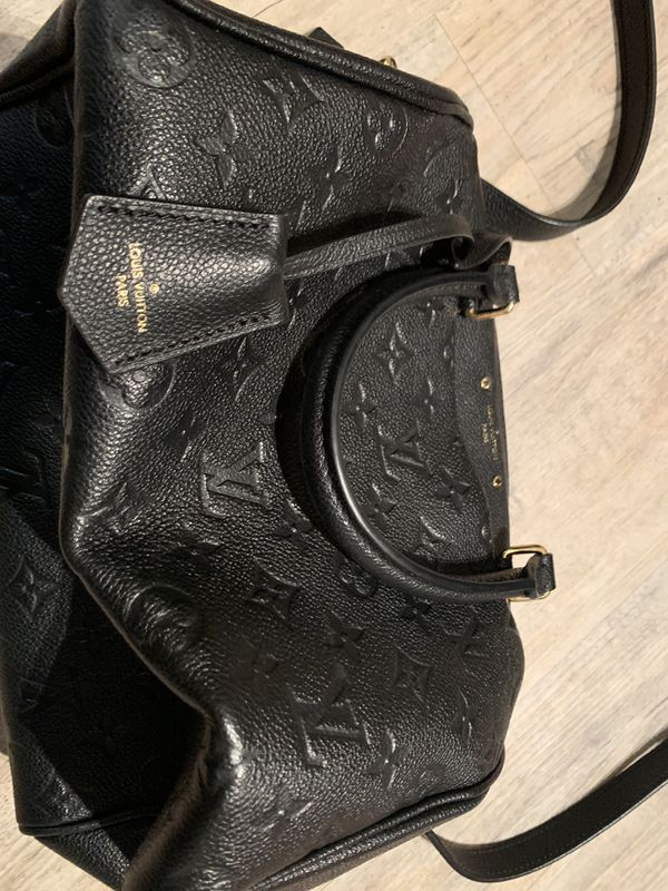 Black Louis Vuitton Monogram handle bag
