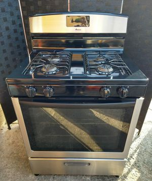"""⚫ AMANA STAINLESS STEEL STOVE 30"""" ⚫ for Sale in Maywood, CA"""