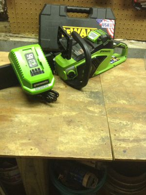 40 V chainsaw kit for Sale in Obetz, OH