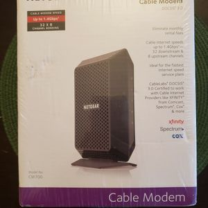 NETGEAR CM700 High Speed Cable Modem for Sale in Federal Way, WA