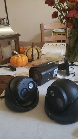 Lorex 4k camera audio dome & bullet for Sale in Stockton, CA