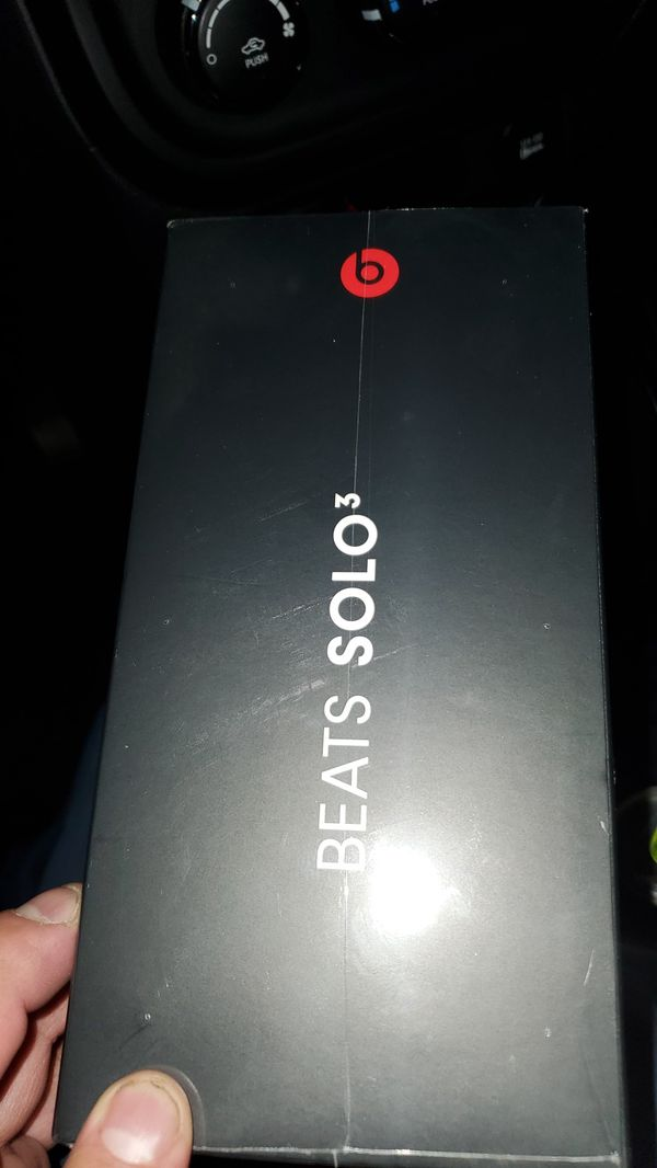 BEATS SOLO 3 Special Edition Product Red