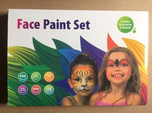 Face Paint Kit - Brand New for Sale in Hudson, FL
