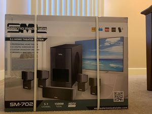5.1 Home Theater System SM-702 for Sale in Jacksonville, FL