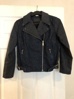 Levi's Strauss Denim Moto Jacket Women's M for Sale in San Bruno, CA
