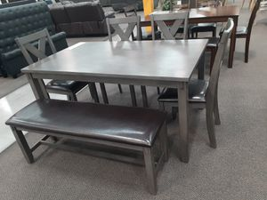 6 pc dining table set for Sale in Monrovia, CA