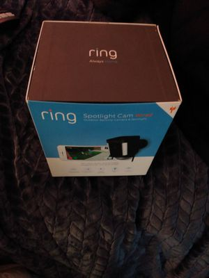 Ring brand new never opened wired spotlight camera in black MSRP $199+ TAX for Sale in Pismo Beach, CA