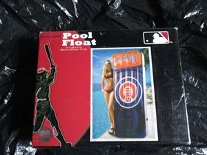 Chicago Cubs Baseball New Swimming Pool Raft Float Sealed in Box for Sale in Chicago, IL