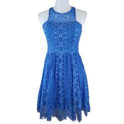 Dear Moon Blue Dress, Sleeveless, Lace, Lined for Sale in Brandon,  FL