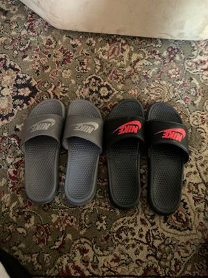 Nike slides both for 35$ for Sale in Hudson, NY