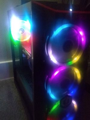 Like new gaming RGB gaming PC- 1060/i5/DDR4 Ram for Sale in Wausau, WI