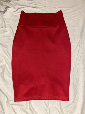 Red pencil skirt for Sale in Yuba City, CA