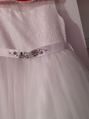 Flower girl dress size 6 for Sale in Roselle, IL