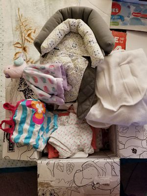 Box of baby blankets for Sale in Federal Way, WA