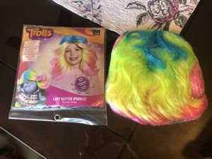 Trolls Lady Glitter Sprakles Costume Wig for Sale in Concord, CA
