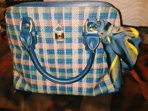 Time and Tru Plaid Handbag for Sale in Sarcoxie, MO