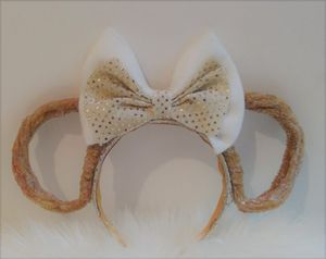 Christmas Minnie Mouse Churros Scented Headband ears for Sale in San Diego, CA