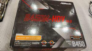 B450M-HDV R4.0 for Sale in Las Vegas, NV