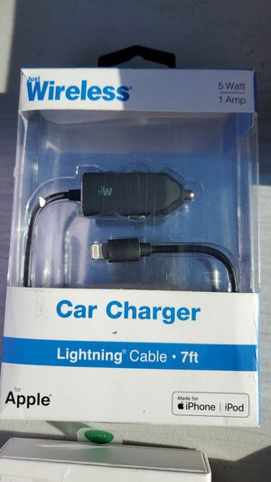 Iphone car charger for Sale in Victorville, CA