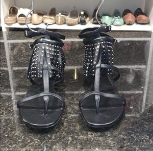 NEW Saint Laurent Women Studded Fringe Sandals for Sale in BRECKNRDG HLS, MO
