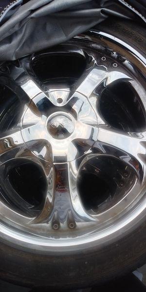 18 inch Chrome Rims for Sale in Washington, DC