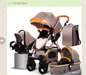 Baby Stroller 4 in 1 with car seat Luxury Baby Stroller for Sale in Anaheim, CA