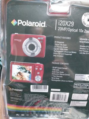 New 20 Megapixel Polaroid Digital Camera with USB connector for Sale in Oklahoma City, OK
